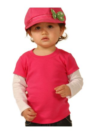 Infants Two-fer Long Sleeve Top