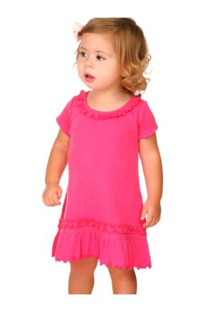 Infants Sunflower Short Sleeve Dress