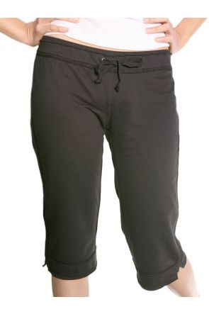 Junior Raw Edge Capri Pant
