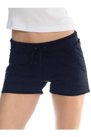 Junior Raw Edge Short With Pockets