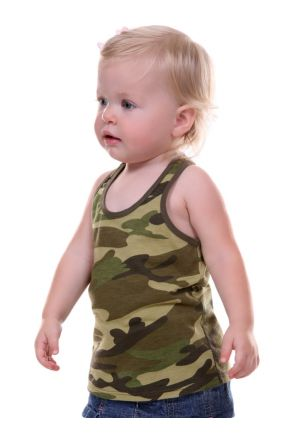 Infants Camouflage Racer Back Tank
