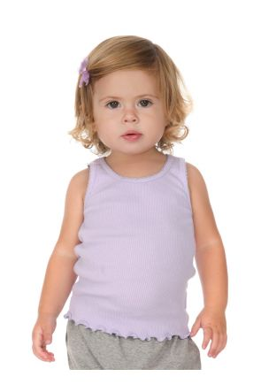Infants Scalloped Beater Tank
