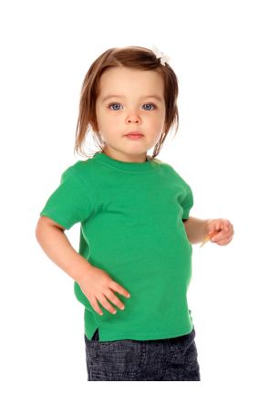 Infants Scoop Neck Short Sleeve Top