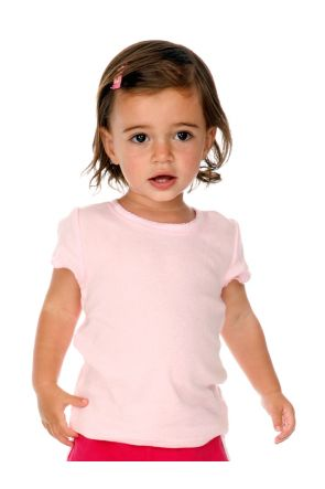 Infants Scalloped Scoop Neck Top