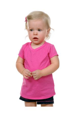Infants V Neck Short Sleeve