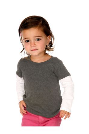 Infants Two-fer Long Sleeve Top.(Replaces 303)