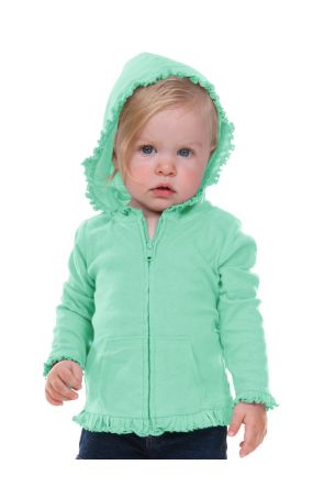 Infants Sunflower Long Sleeve Zip Hoodie