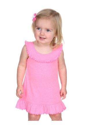 Infants Ruffle Collar Tank Dress