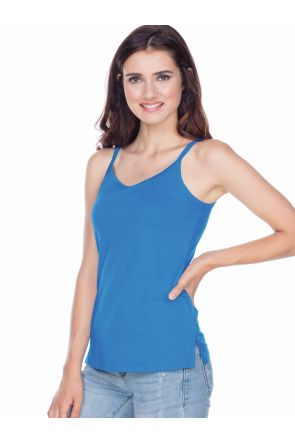 Juniors Strap Tunic Tank