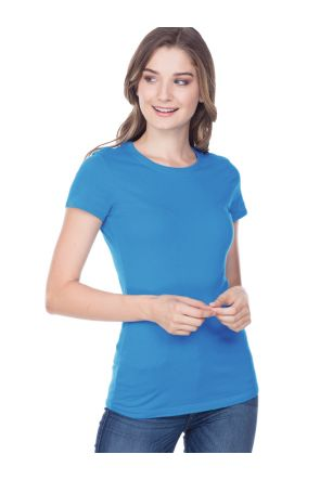 Junior Baby Doll Short Sleeve Tee X-Length