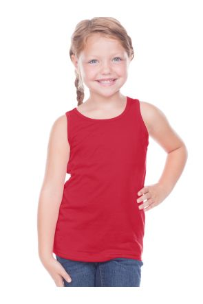 Toddlers Sheer Jersey Scoop Neck Tank