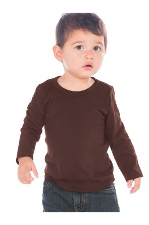 Unisex Infants Crew Neck Long Sleeve