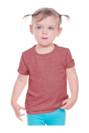 Infants Slub Crew Neck Short Sleeve