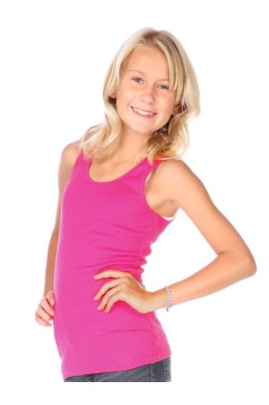 Girls 7-16 Beater Tunic Tank