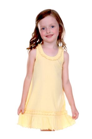 Girls 3-6X Sunflower Dress.(Replaces 0331)