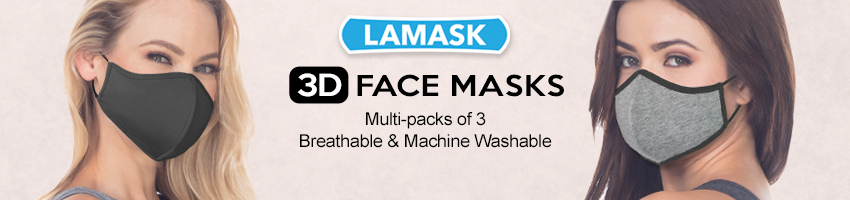 LAMASK 3D Face Masks